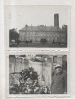 87.146/ Lot 2 Photos (9 X6 Cm) LIMOGES  - (1933) Musée Archéologique Et Monument Aux Morts - Lieux
