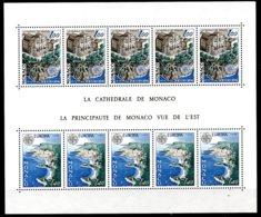 Monaco, 1978, Europa Cept, Monuments, Scenery, MNH, Michel Block 12 - Monaco