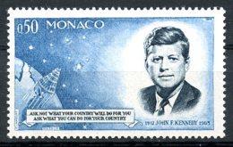 Monaco, 1964, John F Kennedy, JFK, MNH, Michel 789 - Monaco