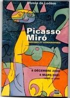 MIRO Lithographie **UBU Roi**1966 Musée De Lodève De Décembre 2000 à Mars 2001 NEUVE - Illustrateurs & Photographes
