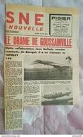 COUPURE DE PRESSE 5 JUIN 1973 MEETING DU BOURGET CRASH DU TUPOLEV 144 SUR GOUSSAINVILLE - Aviation Commerciale