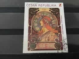 Tsjechië / Czech Republic - Alfons Mucha (Z) 2010 - Used Stamps