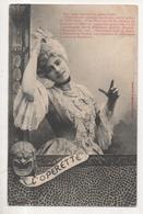 """THD.459/ Fantaisie Femme- Bergeret - """"L'operette"""" - Bergeret"""