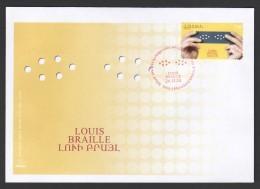 Armenien / Armenie / Armenia 2009, Birth Bicentenary Of Louis Braille - FDC - Armenia