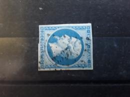 Empire No 14 B , Obl Pc  3337 De THANN , Haut Rhin  , Belle Frappe  ,  TB - 1853-1860 Napoléon III