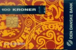Denmark Chip Cards, Coin, Den Danske Bank (1pcs) - Denmark