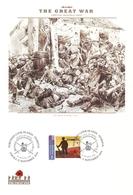 Northern Cook Islands - Penrhyn 2014 - FDC The Great War - The Battle Of Mons - Guerre 1914-18 - Penrhyn