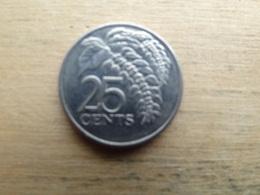 Trinite & Tobago  25  Cents  2005 Km 32 - Trinité & Tobago