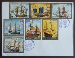 1972 FDC, Paraguay, Sailing - Paraguay