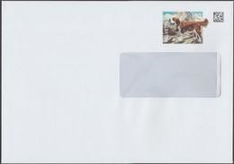 Suisse 2018. Entier Postal, Enveloppe. Saint-Bernard Et Son Tonneau - Cani