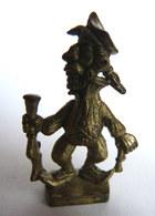 Rare FIGURINE KINDER  METAL PIRATE GROTESQUE 3 - U-EI Piraten (2) - Figurines En Métal