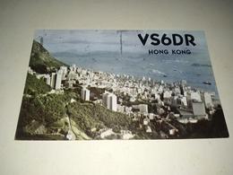 """Postal, Postcard, Radio  - """"Hong Kong ,1968 - Radio Amateur"""