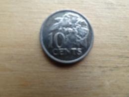 Trinite & Tobago  10  Cents  2001 Km 31 - Trinité & Tobago