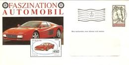 Liechtenstein 1994 - Lettre Commerciale Faszination Automobil -  Ferrari Testarossa - YT 1010 - Liechtenstein