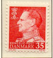PIA - DANIMARCA -1963-65 : Uso Corrente - Re  Federico  IX°   - (Yv 421a) - Danimarca