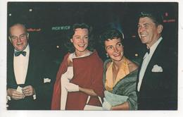 THD.469/ Ronald Reagan, Edgar Bergen And Their Wives.... - Personnages