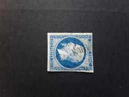 Empire No 14 A A Bleu Fonce  Obl Pc 3461 De VAISON , Vaucluse  ,  Indice 5 ,TB - 1853-1860 Napoléon III