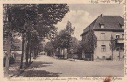 German Feldpost WW2: Postcard Werneuchen From Nachtjagerschule 1 (Stabskompanie) At Werneuchen Near - Militaria