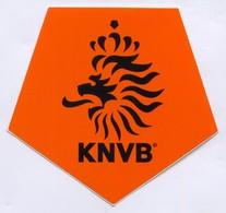 FOOTBALL / SOCCER / FUTBOL - KNVB NETHERLANDS, FEDERATION, ASSOCIATION, Sticker, Autocollant, Dimen: 9x9cm - Adesivi