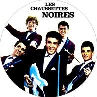 Les Chaussettes Noires Eddy Mitchell Grande Feutrine Pour Platine Vinyle 006 - Objets Dérivés