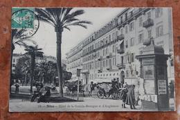 NICE (06) - HOTEL DE LA GRANDE BRETAGNE ET D'ANGLETERRE - Cafés, Hoteles, Restaurantes