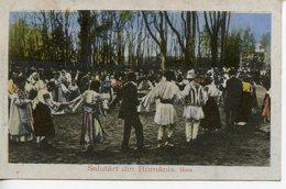 328. CPA ROUMANIE. SALUTARI DIN ROMANIA 1919 - Roumanie