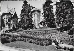 SPLENDID HOTEL - CHATELGUYON (PUY-DE-DOME) FRANCIA - VIAGGIATA 1966 FRANCOBOLLO ASPORTATO - Hotels & Restaurants