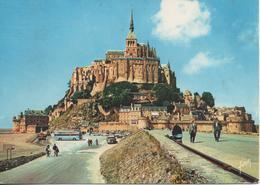 LE MONT ST MICHEL L ARRIVEE AU MONT - Le Mont Saint Michel