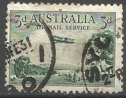 Australia - 1929 De Haviland Airplane Used   SG 115  Sc C1 - Airmail