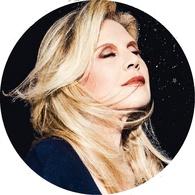Sylvie Vartan Grande Feutrine Pour Platine Vinyle 009 - Objets Dérivés