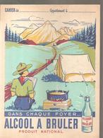 Protège Cahier Scoutisme Dans Chaque Foyer Alcool à Bruler Produit National - Protège-cahiers