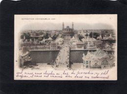 82912   Francia,  Paris,  Exposition Universelle 1900,  Panorama Da Trocadero,  VG  1900 - Expositions