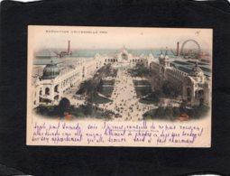 82913   Francia,  Paris,  Exposition Universelle 1900,  Panorama Du Champs De Mars,  VG  1900 - Expositions