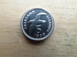 Falkland  5  Pence  1998  Km 4.2 - Falkland