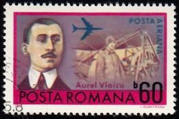 ROMANIA - Scott #C189 Aurel Vlaicu (*) / Used  Stamp - Poste Aérienne
