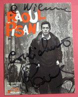 RAOUL PISANI PRIMA DI MORIRE STASERA PROMOCARD JAGUAR AUTOGRAFO - Autographs