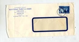 Lettre Cachet Deerlyk Sur Quint - Postmarks - Points