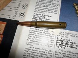 CARTOUCHE 7.92 SEMI PERFO 1943 - Decorative Weapons