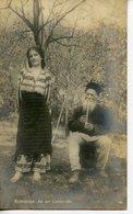 331. CPA PHOTO. RUMANIEN AN DER LANDSTRASSE (VERS 1918) - Roumanie