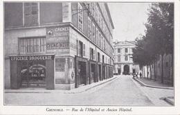 GRENOBLE RUE DE L'HOSPITAL ET ANCIEN HOPITAL    AUTENTICA 100% - Grenoble
