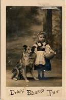 Early Advertisement Card, Bölgers Thee, Little Red Riding Hood, Real Photo - Oud (voor 1900)