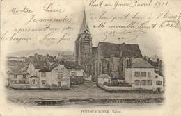 """1 Cpa Pont Sur Yonne - L'église  """"pionnière 1901"""" - Pont Sur Yonne"""