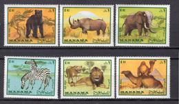1969 - MANAMA - Catg.. Mi. 177/182 - NH - (CW1822.5) - Manama