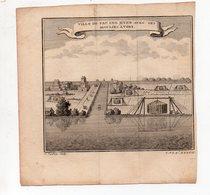 (Chine) Ville De Pau Ing Hyen Avec Ses Moulins à Vent (gravure Ancienne Originale) (PPP16778) - Vieux Papiers