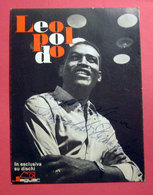 LEOPOLDO POUR DEUX ALE' RAGAZZI JAGUAR 1963 PROMOCARD - Autografi