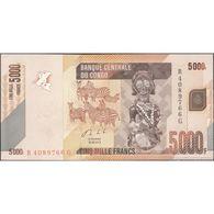 TWN - CONGO DEM. REP. 102b -. 5000 5.000 Francs 30.6.2013 R XXXXXXX G UNC - Congo