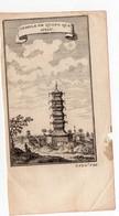 (Chine) Temple De Quang Qua Myau (gravure Ancienne Originale) (PPP16780) - Vieux Papiers