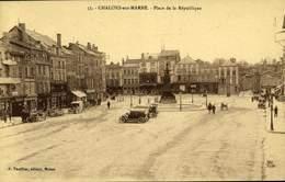 51 CHALONS-SUR-MARNE - PLACE DE LA REPUBLIQUE / A 338 - Châlons-sur-Marne