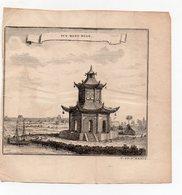 (Chine) Tcy Wang Myan  (gravure Ancienne Originale) (PPP16781) - Vieux Papiers