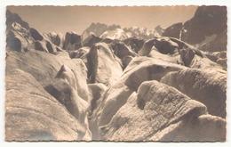 Photo ( 13.5 X 8.5 Cm )  Mer De Glace Les Céracs 1906 Photographe Tairraz à Chamonix - Lieux